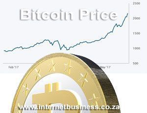 The #BitcoinPrice is going crazy... If you've been following it, it's currently trading at around R37,000 ($2,600) and predictions are that it'll reach $4,000 by year end which will make some fortunate #bitcoin investors very rich