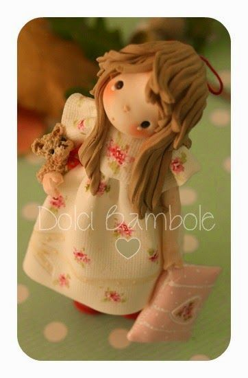 Dolci Bambole-Porcellana fredda- Polymer clay-Porcelana fria - Pesquisa Google