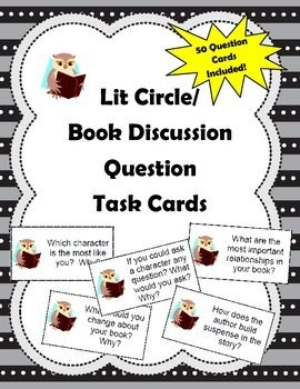 12 Activities to Use During Literature Circles or Your Next Novel Study
