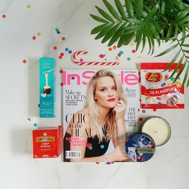 Beautiful Reese on the cover of InStyle Magazine.  What a beautiful kit!  Shop now www.thegiftkitco.com.au