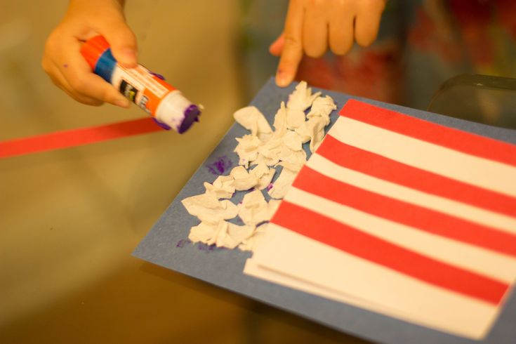 Circus crafts for kids pop corn from Solo School