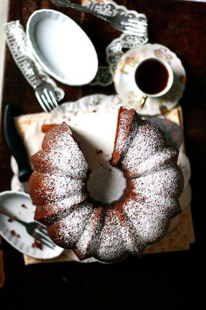 Earl Grey Chocolate Sour Cream Cake | Indigo Scones