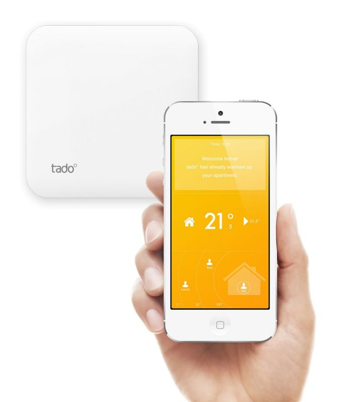 The tado° Smart Thermostat uses the intelligence of the web to offer you the highest level of comfort while ensuring that no energy goes to waste.
