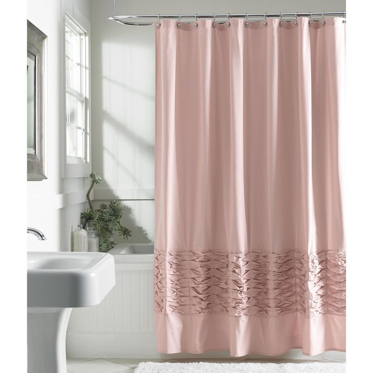 1000 Ideas About Pink Shower Curtains On Pinterest