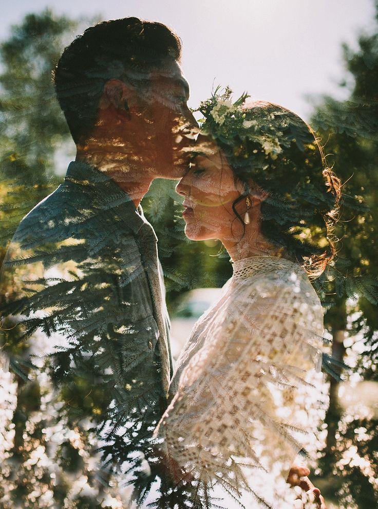 Чужие люди просят свадебную фотографию