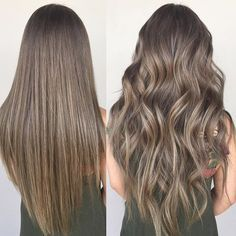 16 best ash brown images on pinterest ash brown hair color hair extra chilled cool ash blonde tone cut style straight vs curled pmusecretfo Image collections