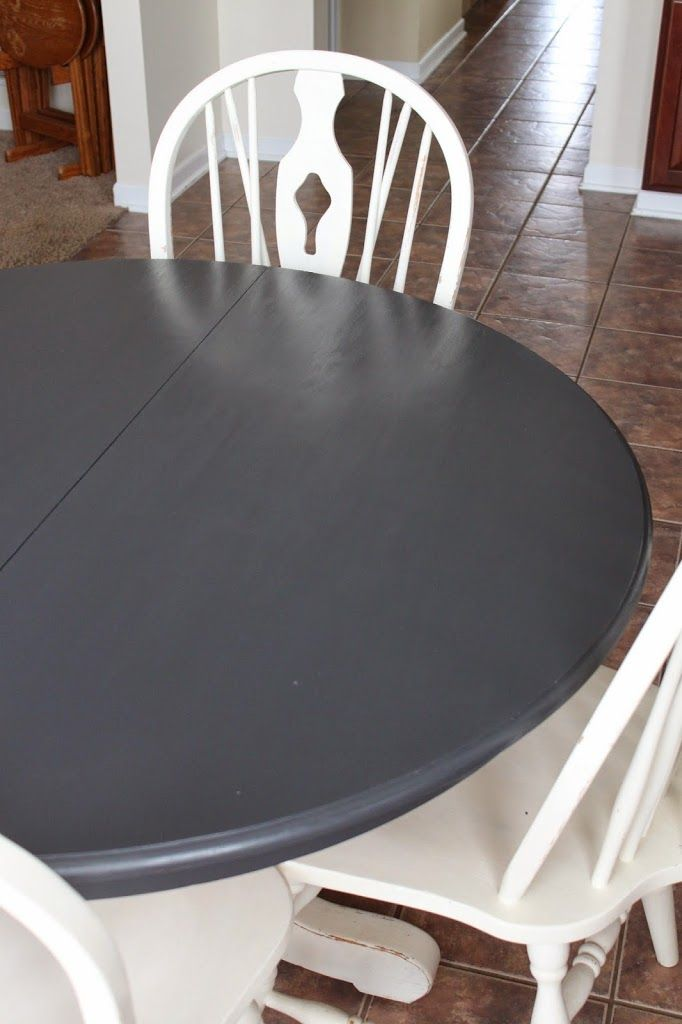 The Tale of the Painted Table Top Trouble -