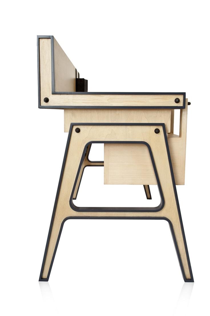 Doodad Desk Designed By Ia Kutateladze