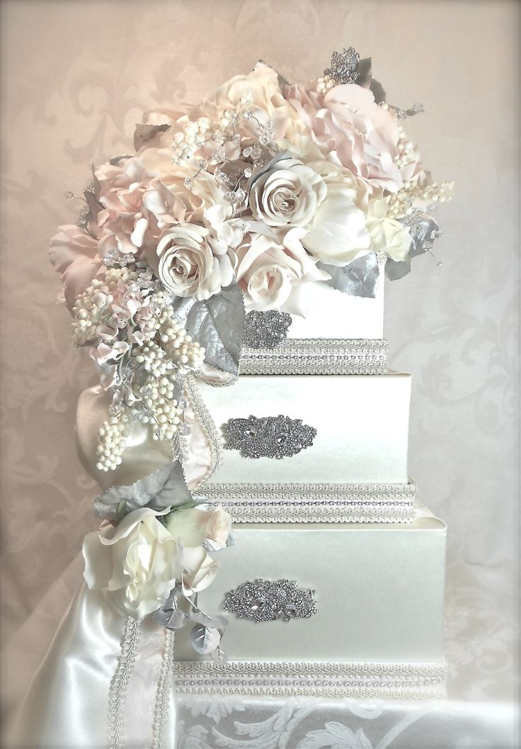 HOLY OVER THE TOP  but appealing too!Wedding Card Box Elegantly Created, wedding card box, gift card box, box, money card box, card box for wedding, wedding. $138.00, via Etsy.