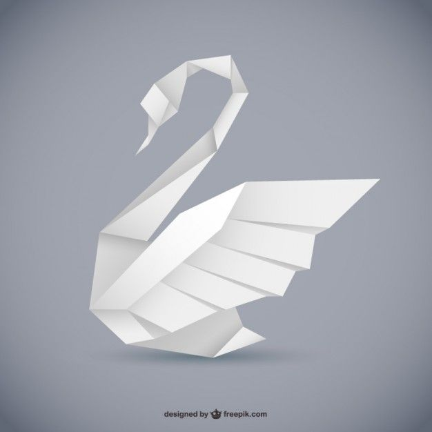 3d origami swan instructions