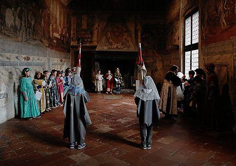 Il Castello di Malpaga e l'antico Borgo