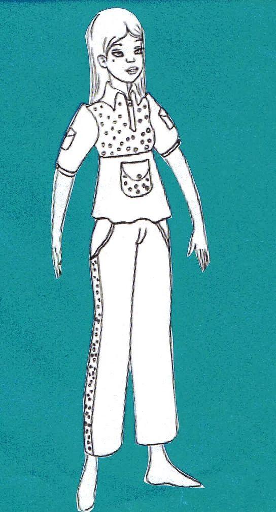 Adapta y modifica un patrón de pantalón a tu medida.