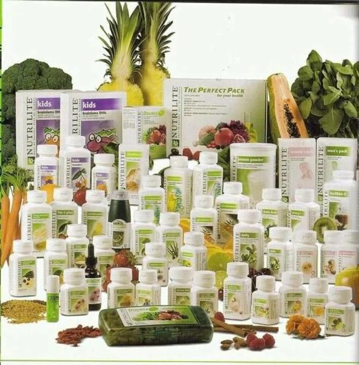 Nutrilite Products: all organic grown on their personal farms. Check it out www.amway.com/alinaherrera