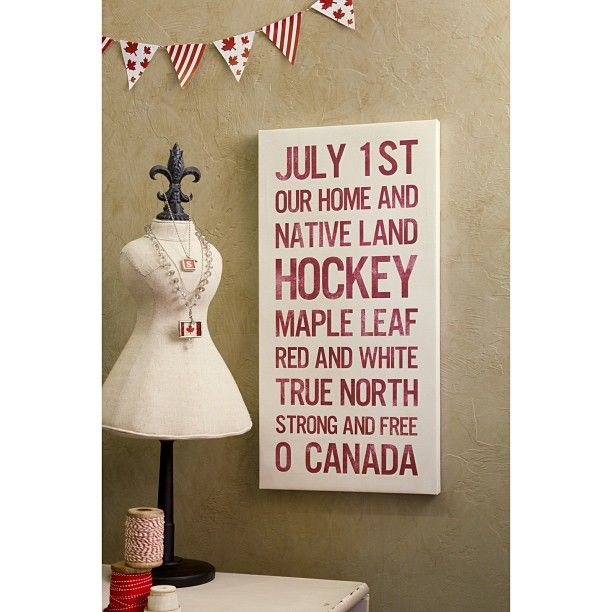 Got Canada Day on your mind? Display your Canadian pride!