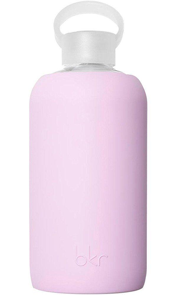 The Original Best-Loved Big bkr: Glass Water Bottle + Soft Silicone Sleeve 1L - Juliet Best Price
