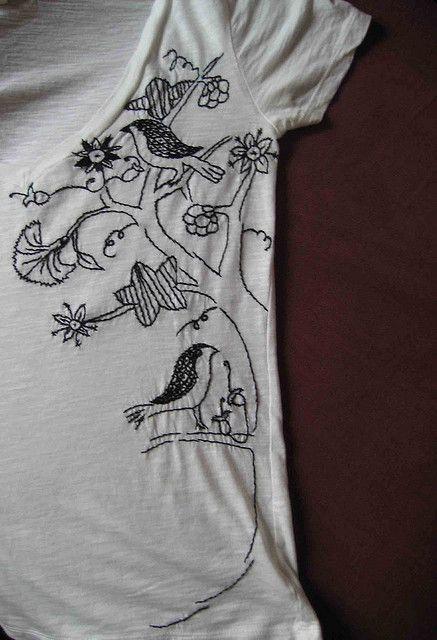 One day I will make a shirt like this...lol! Thank you @Robert Goris Goris Goris Goris Larsen! You have the best craft ideas I've ever seen! :D