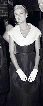 Grace Kelly alla premiere del film La Finestra sul Cortile 1954