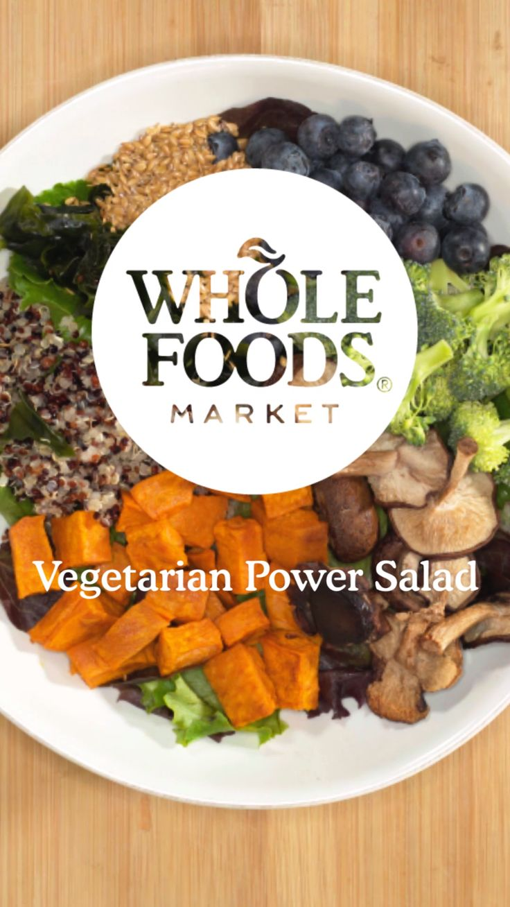 Feed Your Resolution: Vegetarian Power Salad // We're obsessed with this hassle-free bowl, packed with fresh veggies and topped with a bright fruity dressing. Whether you're pledged to a special diet or just want to try something new, we've got the recipes, tips and inspiration to fuel your path forward.