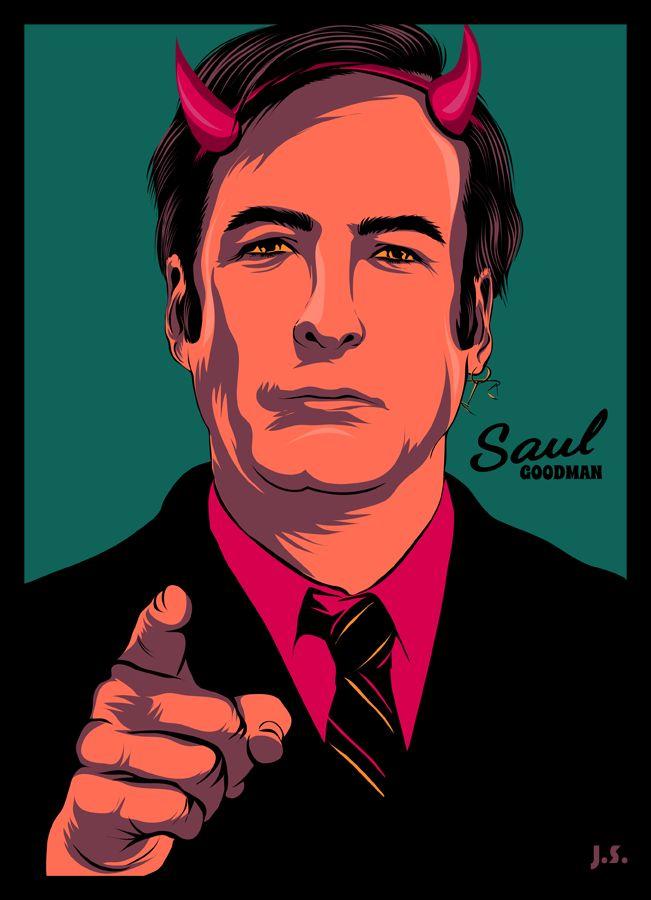 saul goodman in green ||| Saul Goodman ||| Better Call Saul Fan Art by JimSuperfly on DeviantArt