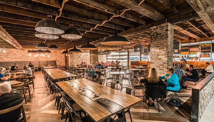 Kitchen on Charlotte, Dining Area, Collegians Wollongong #food #decor #drink