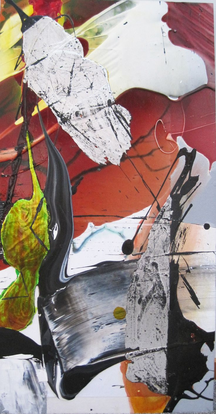 Cristina Popovici - Treescape 2 (2014) - mixed media on canvas