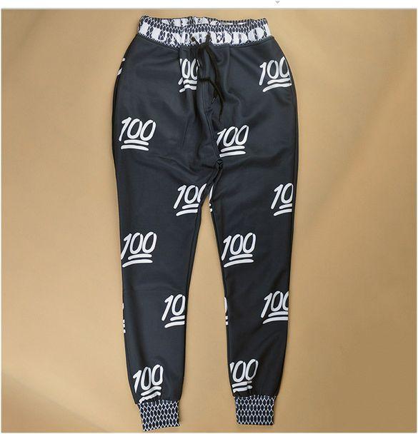 Keep it 100! Sweatpants