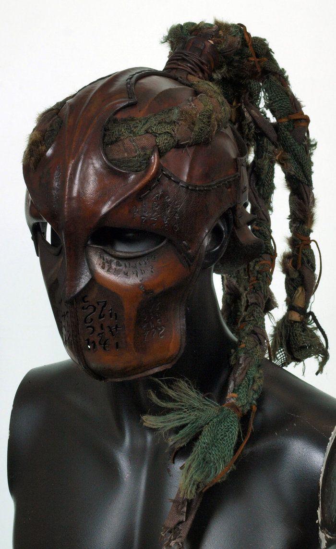 Wood elf Helmet by ~Valimaa on deviantART