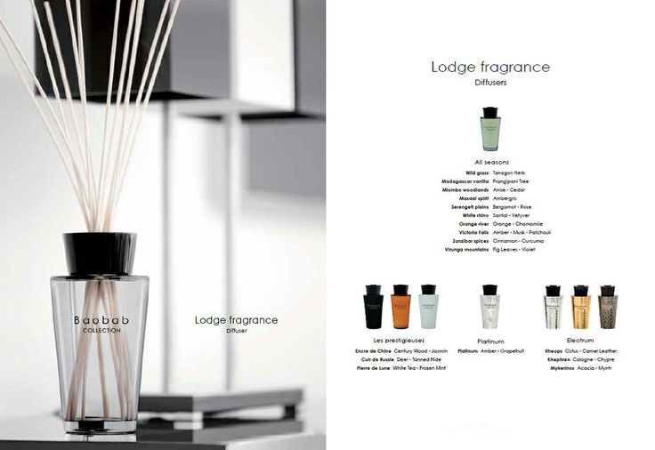 baobab collection lodge fragrances deze huisparfum van. Black Bedroom Furniture Sets. Home Design Ideas