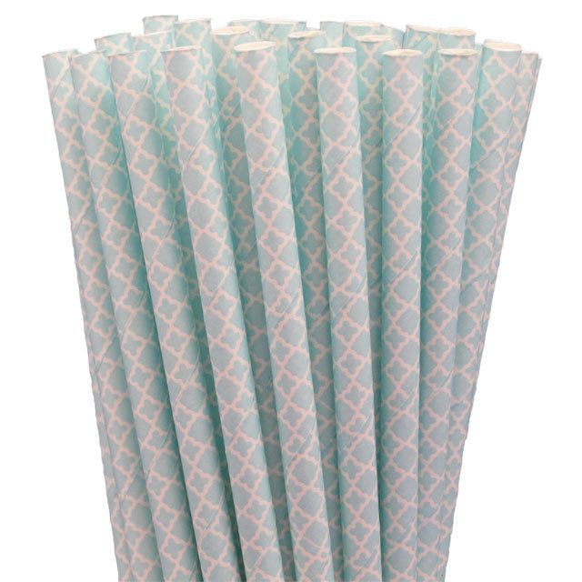 Greenmunch - Paper Straws - Blue Lace, $4.50 (http://www.greenmunch.ca/paper-straws/standard-length/patterns/paper-straws-blue-lace/)