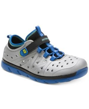 Stride Rite M2P Phibian Shoes, Little Boys (11-3) & Big Boys (3.5-7) - Silver 12