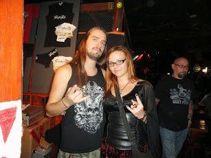 Vreth (Finntroll) and I :)