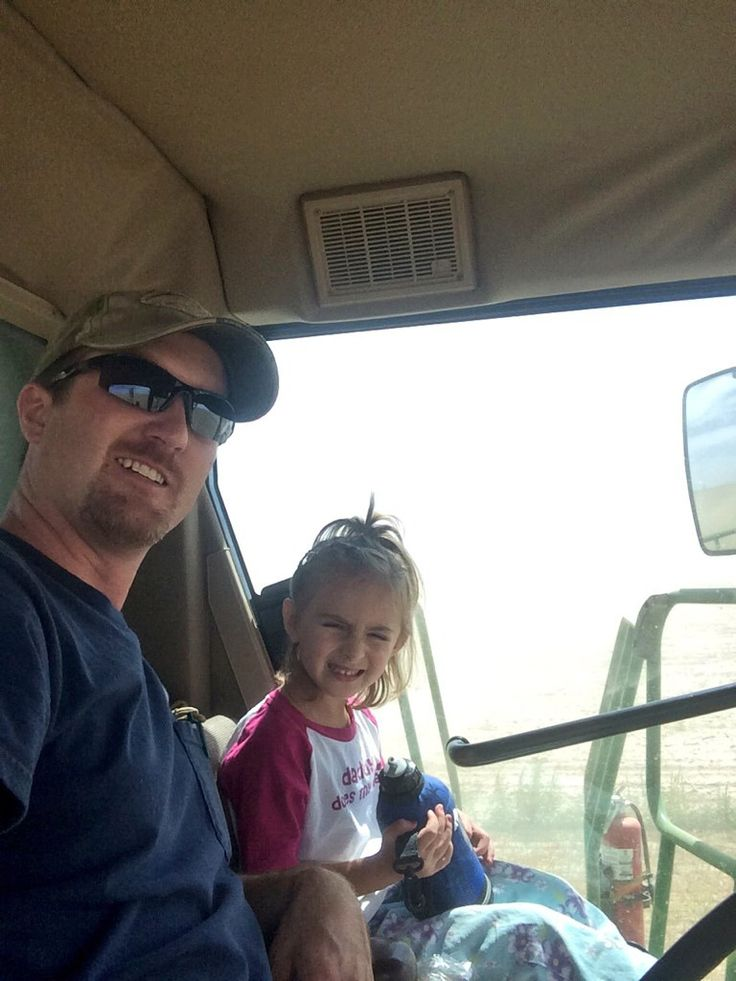 Sean Harkness and his daughter. Read his story: http://www.farmathand.com/blog/meet-your-farmer-sean-harkness/