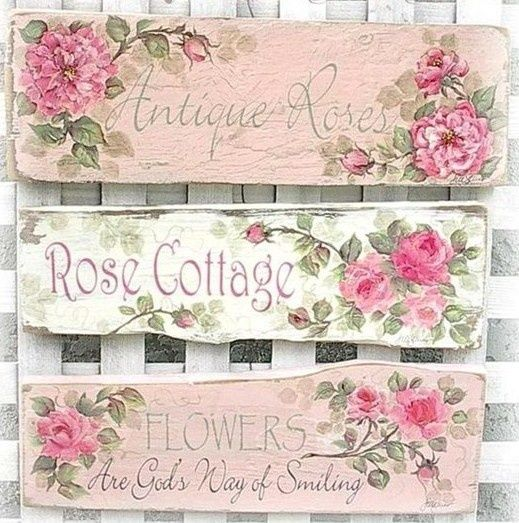 Home Decor Signs   Shabby Chic