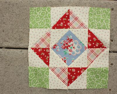 Diary of a Quilter - a quilt blog: New Quilt Blocks and tutorials  LOVE THE FABRIC COLORS.....