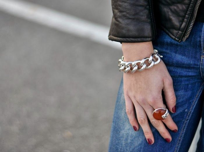 Candies Closet: Basics For A Cold Day. Ciclón Bracelet And Ring