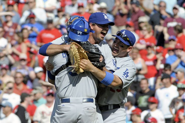 Watch the final out of Josh Beckett's no-hitter against the Phillies