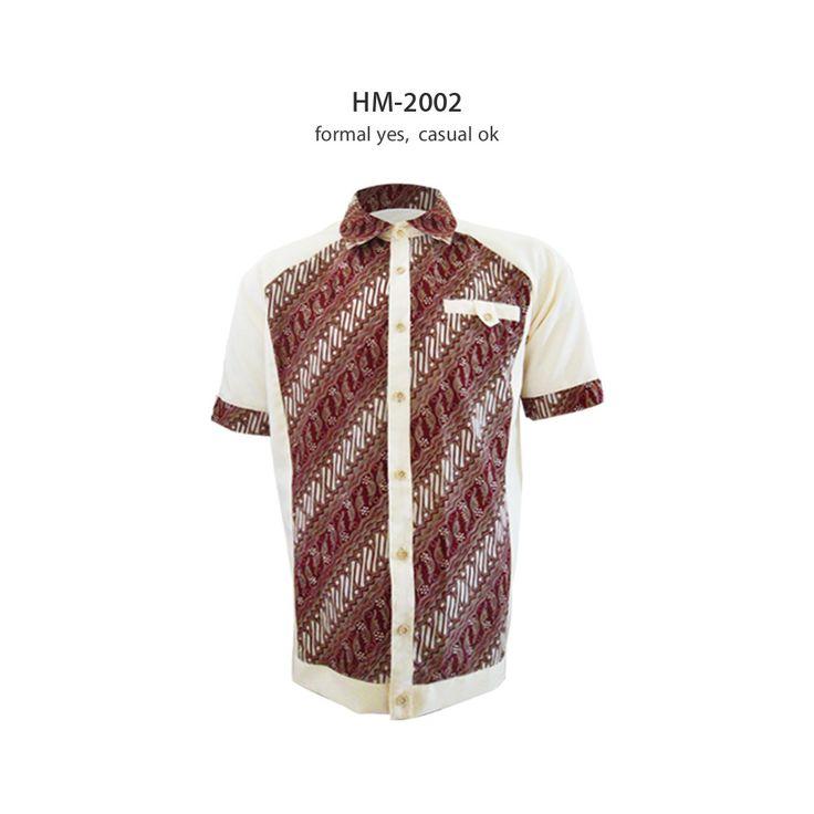 Batik Pria Casual: Formal Casual Shirt #kemejabatikmedogh Http://medogh.com