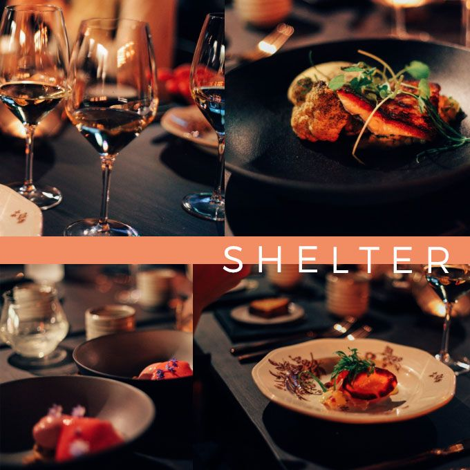 Dinner time at Shelter