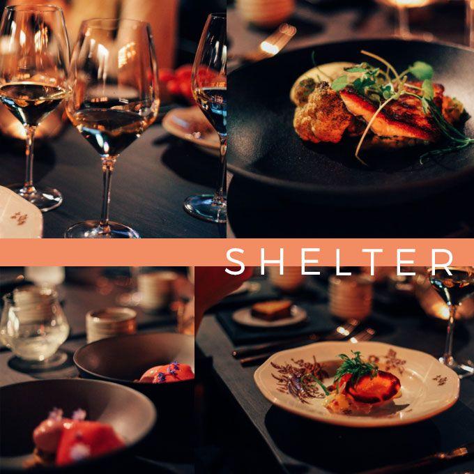 Dinner time at Shelter