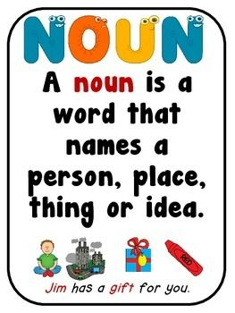 Noun and Verb Sort - Noun Verb Cut and Paste Sort, JUST PRINT AND GO! No prep!  Common core aligned to: CCSS.ELA-LITERACY.L.K.1.B Use frequently occurring nouns and verbs.  Contents: Noun, Verb posters 4 sorting pages to choose from. Recording sheet  This hand-on packet focuses on sorting nouns and verbs. Great for small groups and independent study. All you need is glue and scissors!  Thank you for stopping by!  Need parts of speech posters? Parts of Speech posters, Noun, Verb,