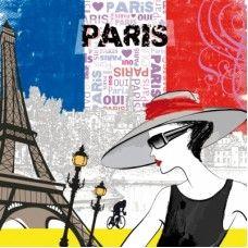 20 Servetten Allez Paris