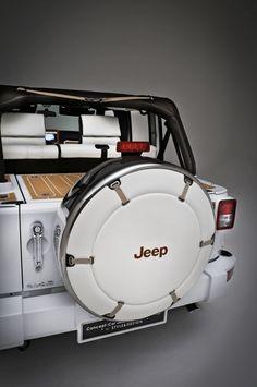 Concept Car Jeep Wrangler Nautic By STYLE & DESIGN (2011) www.rathautoresources.com #rathauto #fortsmith #usedcar #dealership #fortsmithusedcar #arkansas #arkansasusedcar