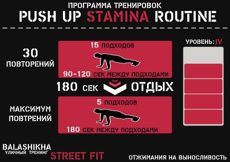 """Программа тренировок """"Push Up Stamina Routine"""" – 7 фотографий"""