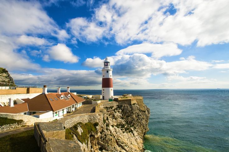 Lighthouse of Europa Point, Gibraltar jigsaw puzzle
