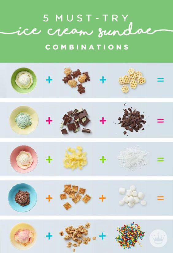 Sure, school may be out soon but that doesn't mean your kids shouldn't still do their math homework.... ice cream math, that is! These 5 must-try ice cream sundae combinations are the best kind of math for summer: ice cream + fun sundae toppings adds up to yum. Whether you love salty and sweet, mint, fruity flavors, or some chocolate on top of your chocolate—this collection of dessert recipes from Hallmark has you covered.