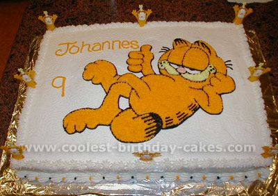 Garfield Cake Photo