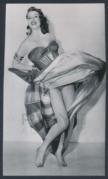 "1952 Rita Hayworth, Sexy Night Club Dance ""Too Hot For Censors"""