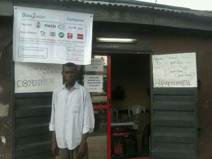 #agent Gideon Omomowo 75 bale street , Orile Iganmu  Lagos.08060168134 #MobileMoney #agencybanking