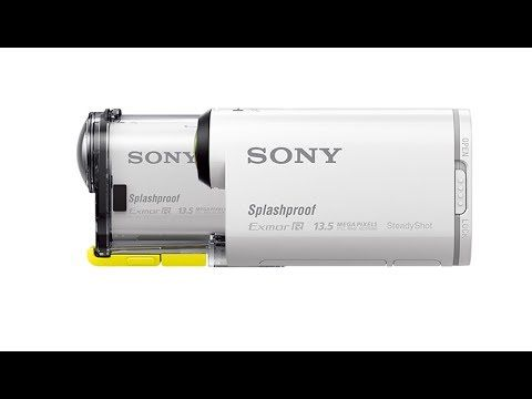 The new Sony Action Cam: HDR-AS100V. Prove yourself