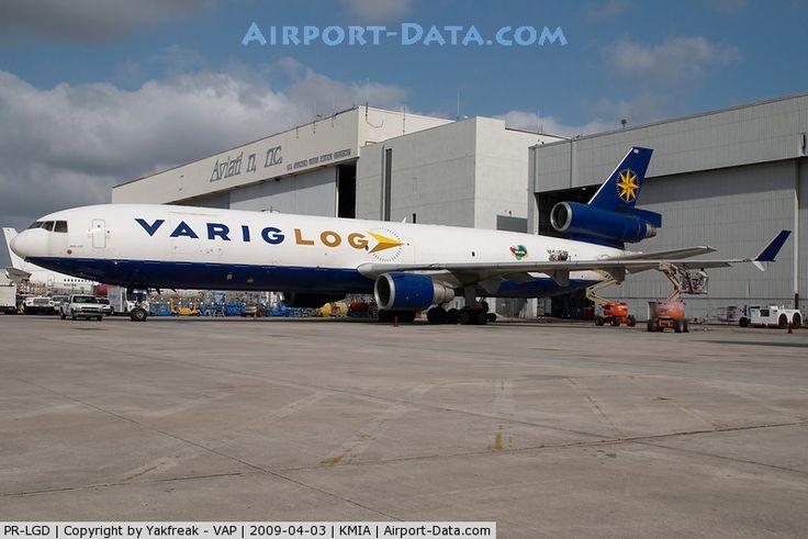 PR-LGD, 1990 McDonnell Douglas MD-11 (F) C/N 48408, Varig LOG MD11 - by Mark Kalfas